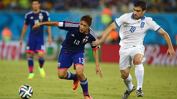 Giappone-Grecia alla Coppa del Mondo 2014