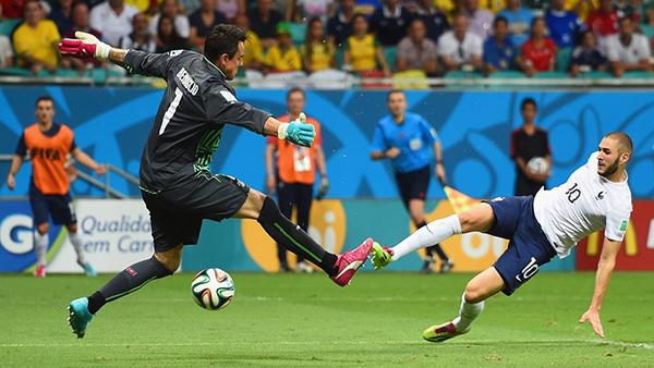 Svizzera-Francia alla Coppa del Mondo 2014
