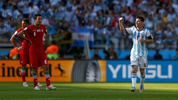 Argentina-Iran alla Coppa del Mondo 2014