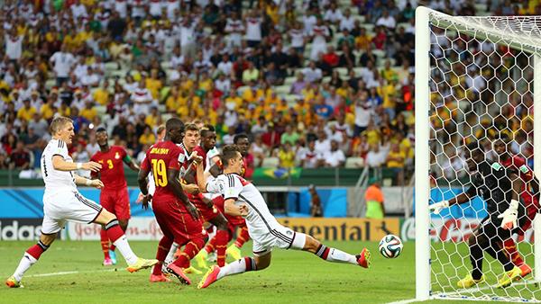 Ghana-Germania alla Coppa del Mondo 2014