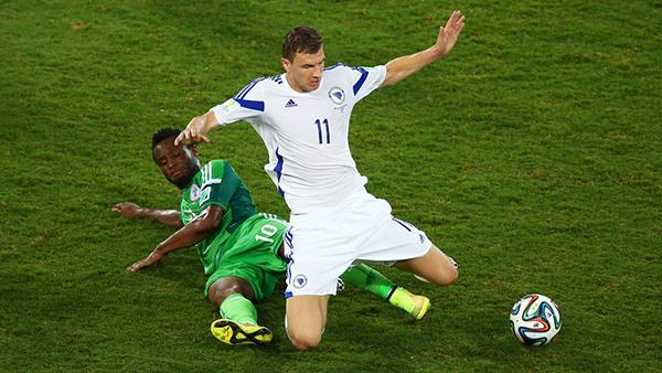 Nigeria-Bosnia alla Coppa del Mondo 2014