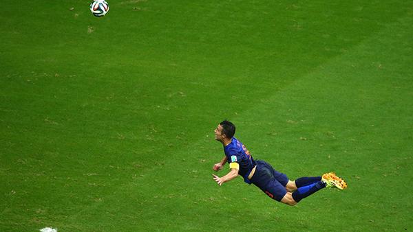 Van Persie affonda la Spagna alla Coppa del Mondo 2014