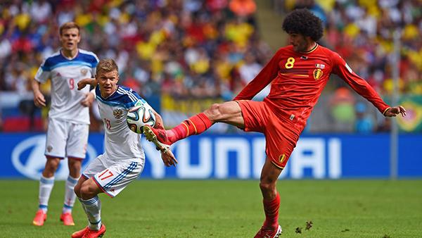 Belgio-Russia alla Coppa del Mondo 2014