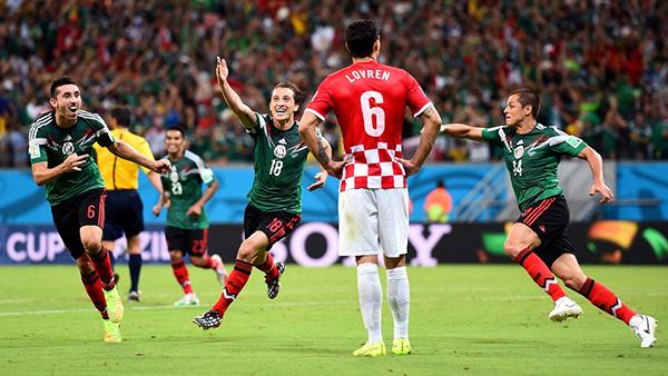 Croazia-Messico alla Coppa del Mondo 2014