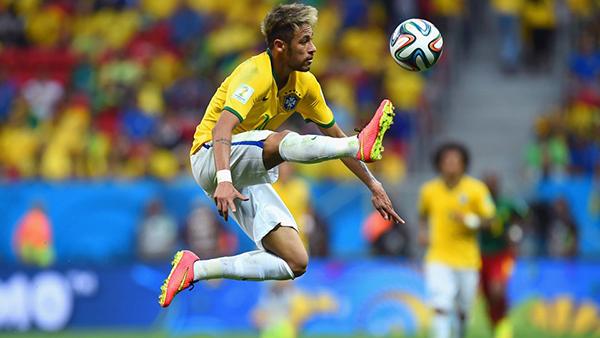Neymar alla Coppa del Mondo 2014