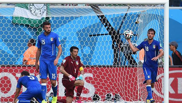 Italia eliminata dalla Coppa del Mondo 2014