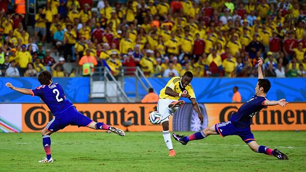 Giappone-Colombia alla Coppa del Mondo 2014