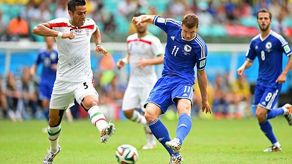Bosnia-Iran alla Coppa del Mondo 2014