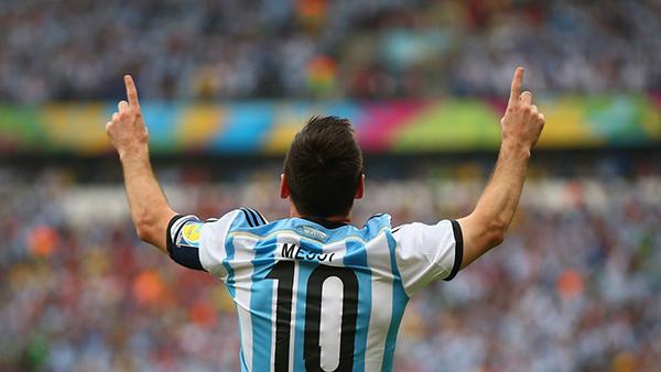 Messi alla Coppa del Mondo 2014