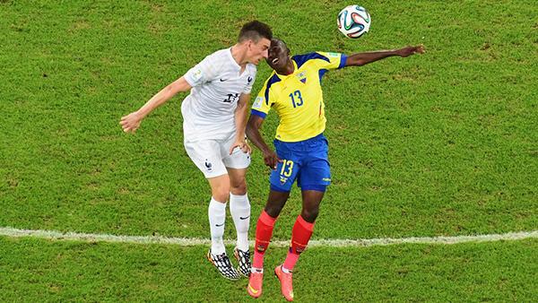 Francia-Ecuador alla Coppa del Mondo 2014