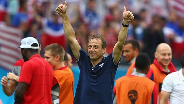 Klinsmann alla Coppa del Mondo 2014