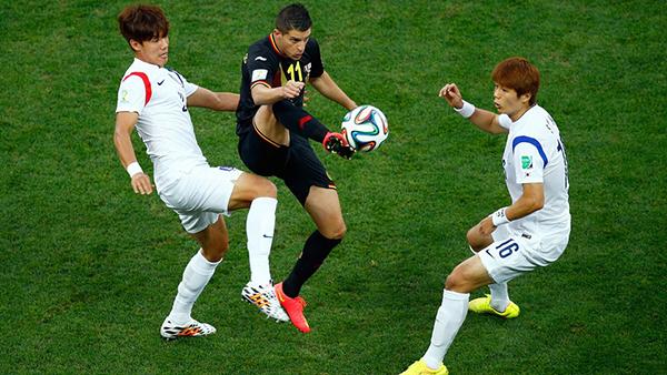 Corea del Sud-Belgio alla Coppa del Mondo 2014
