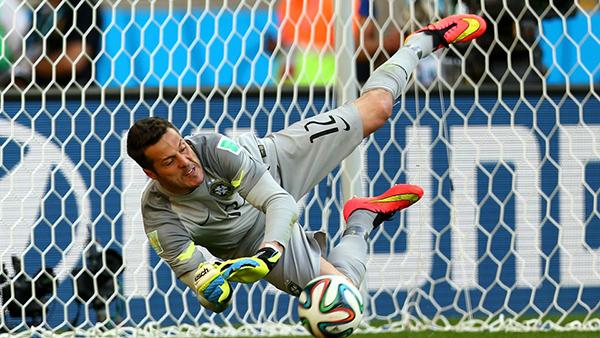 Julio Cesar alla Coppa del Mondo 2014