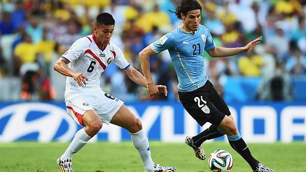 Uruguay-Costa Rica alla Coppa del Mondo 2014