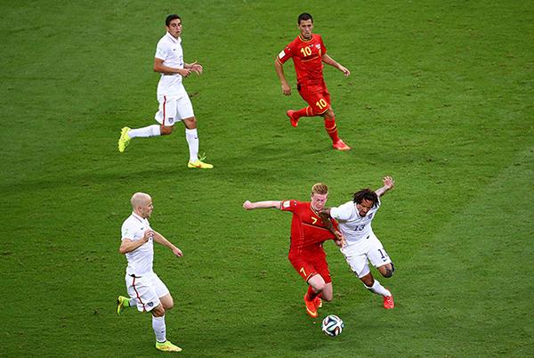 USA-Belgio alla Coppa del Mondo 2014