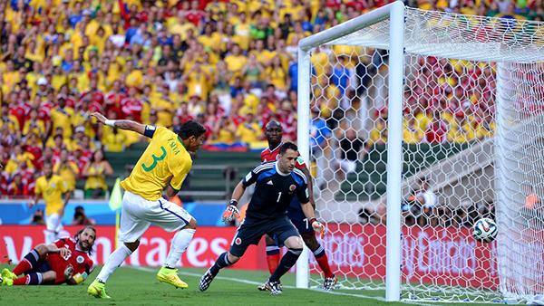 Brasile-Colombia alla Coppa del Mondo 2014