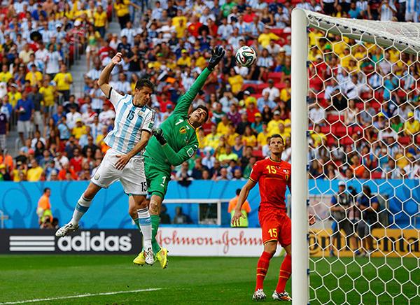 Belgio-Argentina alla Coppa del Mondo 2014