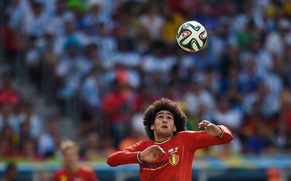 Fellaini alla Coppa del Mondo 2014