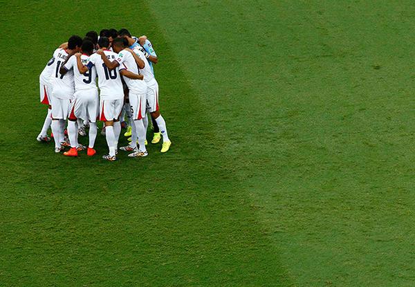 Costa Rica-Olanda alla Coppa del Mondo 2014