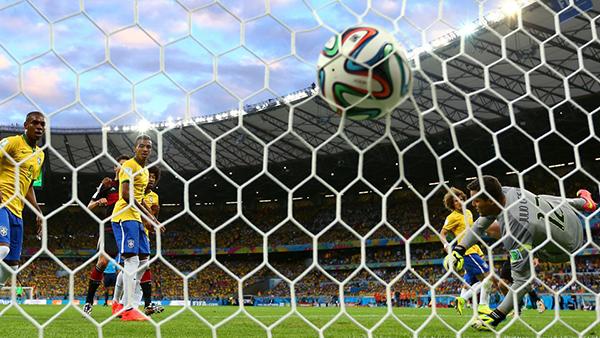 Germania-Brasile alla Coppa del Mondo 2014