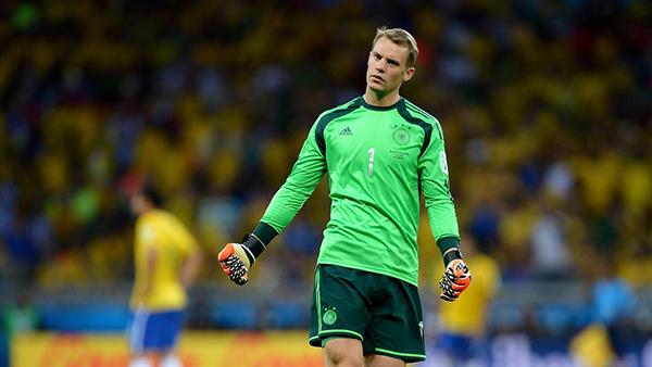 Neuer alla Coppa del Mondo 2014