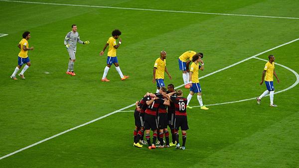Brasile-Germania alla Coppa del Mondo 2014