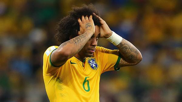 Marcelo alla Coppa del Mondo 2014