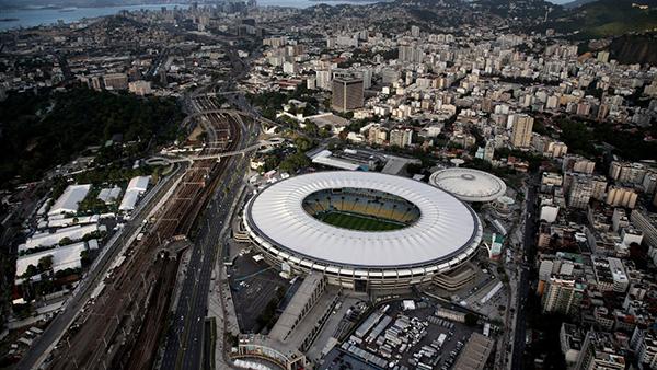 Il Maracanà durante la finale della Coppa del Mondo 2014