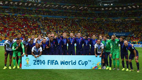 L'Olanda alla Coppa del Mondo 2014