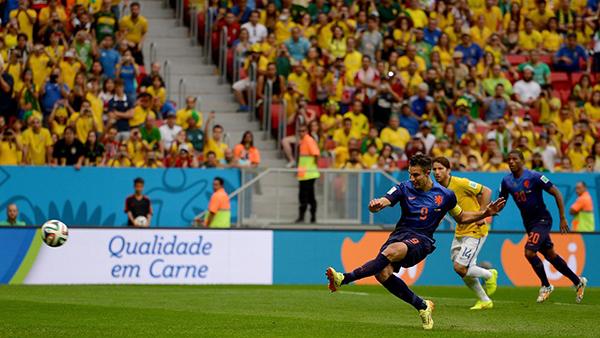 Van Persie alla Coppa del Mondo 2014