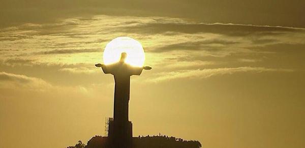 Il Cristo Redentore alla Coppa del Mondo 2014