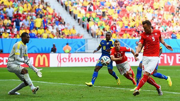 Svizzera-Ecuador alla Coppa del Mondo 2014
