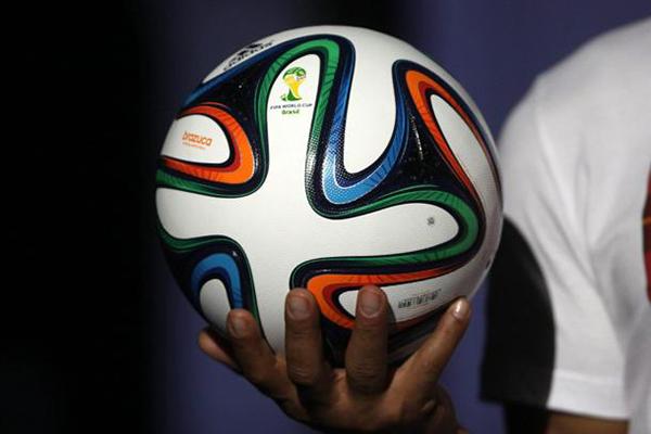 Il pallone dei mondiali di calcio di Brasile 2014