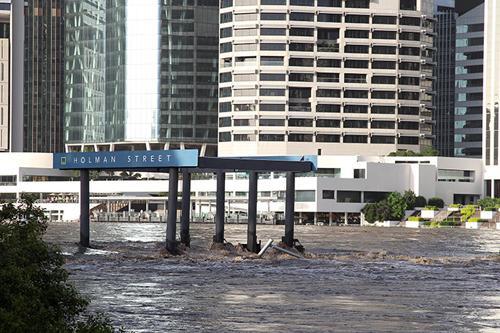 Le inondazioni a Brisbane