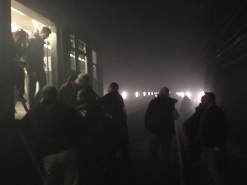 L'evacuazione dei treni della metropolitana di Bruxelles attraverso i tunnel