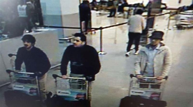 Gli attentatori dell'aeroporto Zaventem di Bruxelles