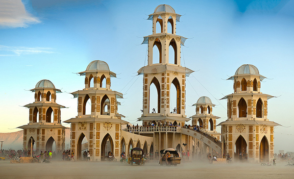 Il tempio del Burning Man