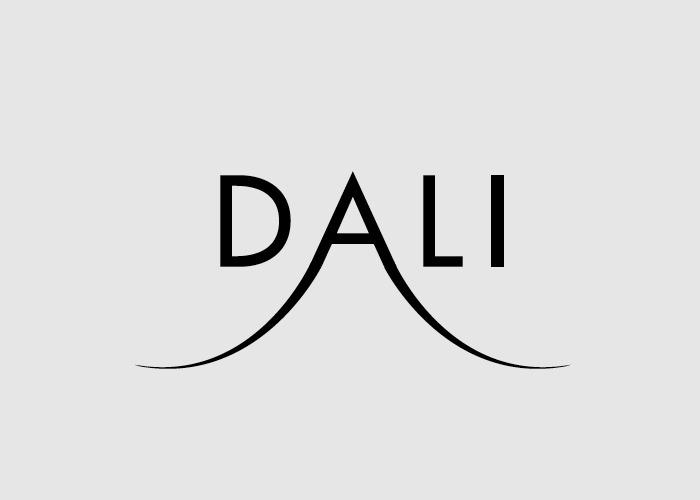 Calligramma della parola Dali
