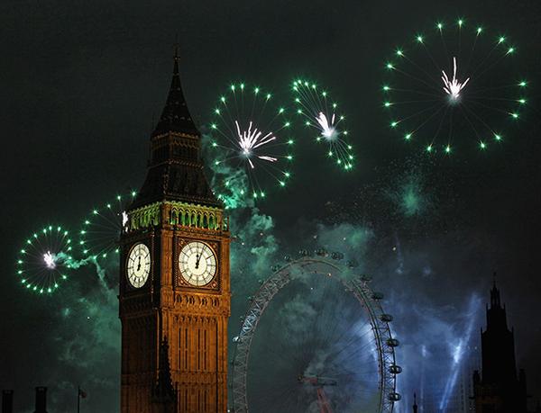Capodanno 2012 a Londra