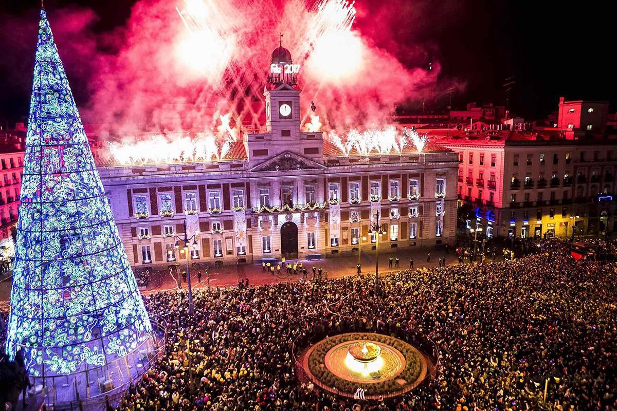 Capodanno 2017 a Madrid