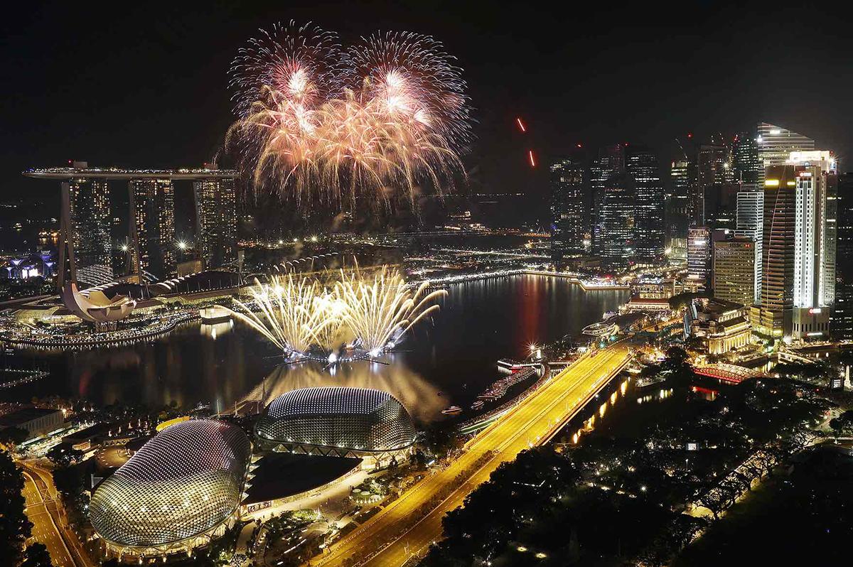 Capodanno 2017 a Singapore