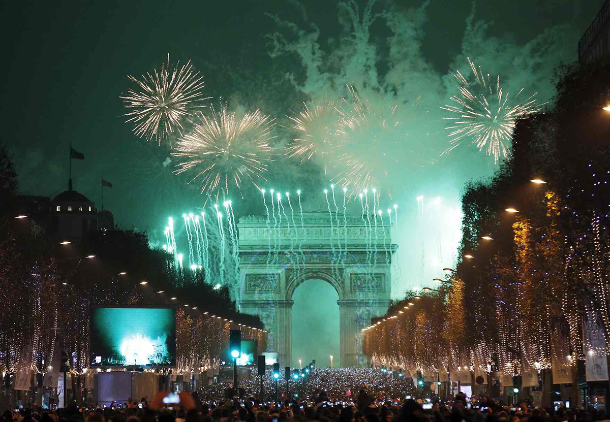 Capodanno 2017 a Parigi