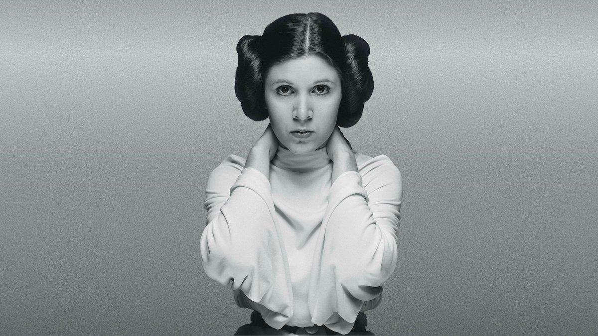 Carrie Fisher principessa Leia
