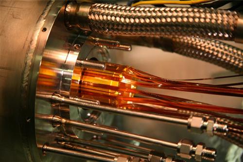 Elettrodi del progetto Alpha al CERN