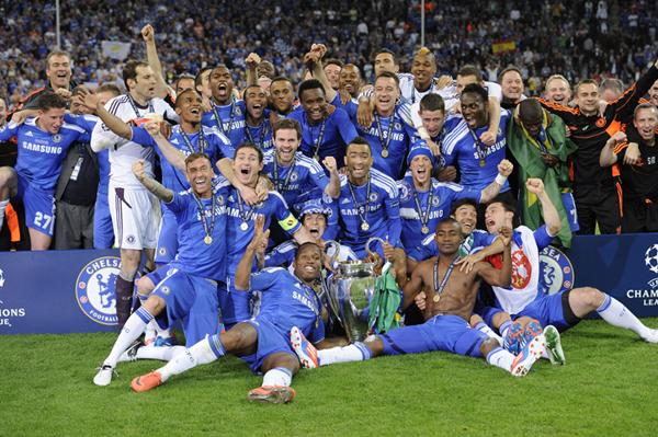 Il Chelsea vince la Champions League 2012