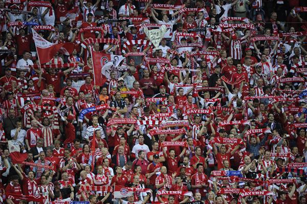 Tifosi del Bayern Monaco