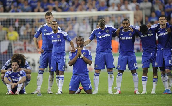 Il Chelsea attende la lotteria dei rigori