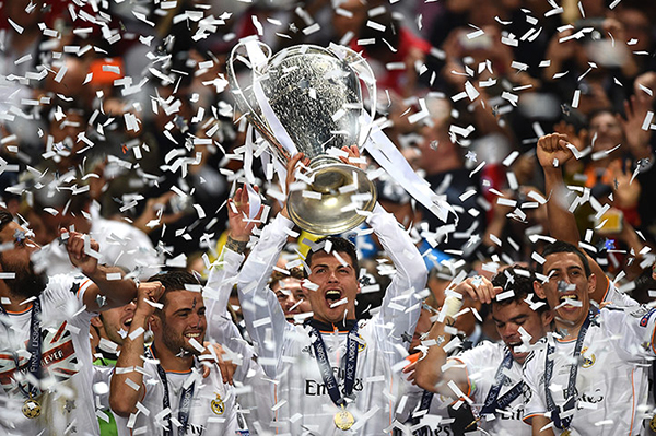 Il Real Madrid vince la Champions League 2014