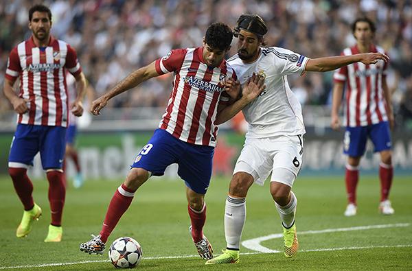 Real Madrid e Atletico Madrid nella finale di Champions 2014