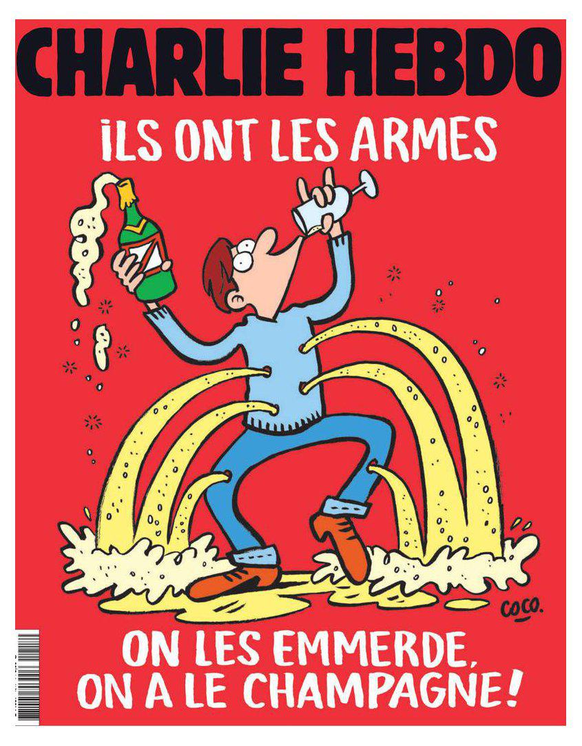 La nuova copertina di Charlie Hebdo sugli attentati di Parigi